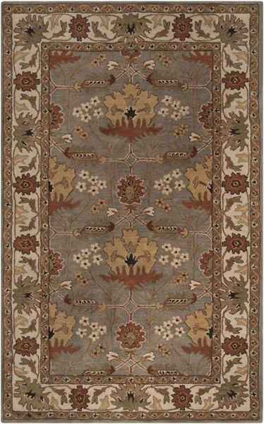 Bungalow Olive Black Gold New Zealand Wool Area Rug - 60 x 96 BNG5018-58