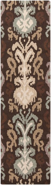 Brentwood Global-Inspired Gold Beige Mauve Gray Polyester Rugs BRENTWOOD-DCR-BNDL