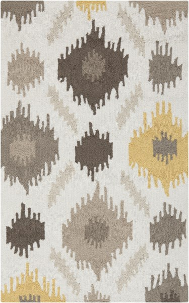 Surya Brentwood Wheat Taupe Cream Polyester Area Rug - 48x30 BNT7676-264