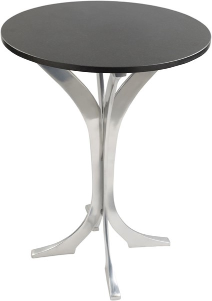Surya Bryson Black Marble Side Table BRS001-202027