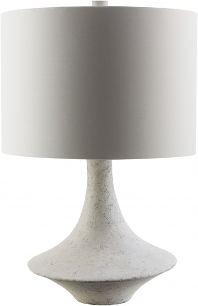 Bryant Concrete Resin Cotton Polyester Table Lamp - 10x23 BRY340-TBL