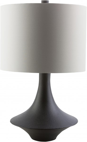 Bryant Charcoal Resin Cotton Polyester Table Lamp - 10x23 BRY341-TBL