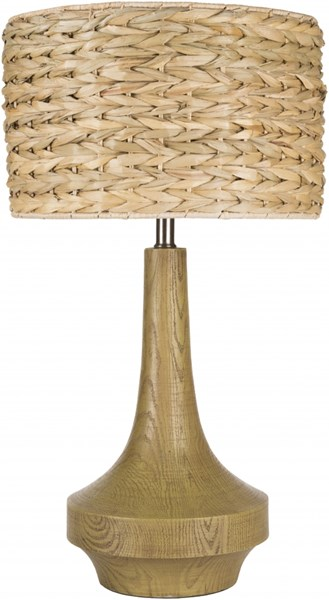 Carson Antiqued Wood Tone Resin Sea Grass Table Lamp - 14x26 CALP-004