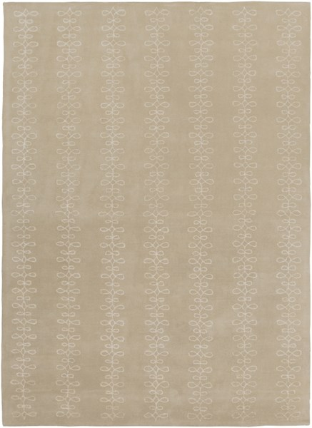 Modern Classics Taupe Wool Area Rug (L 132 X W 96) CAN1916-811