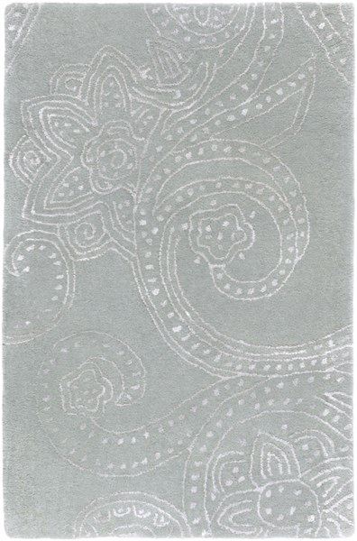 Modern Classics Contemporary Moss Wool Area Rug (L 36 X W 24) CAN1952-23