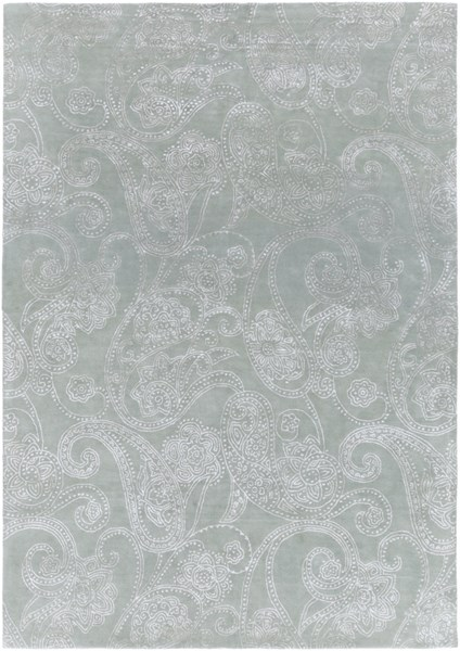 Modern Classics Contemporary Moss Wool Area Rug (L 132 X W 96) CAN1952-811