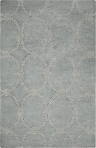 Modern Classics Contemporary Gray Wool Area Rug (L 96 X W 60) CAN1990-58