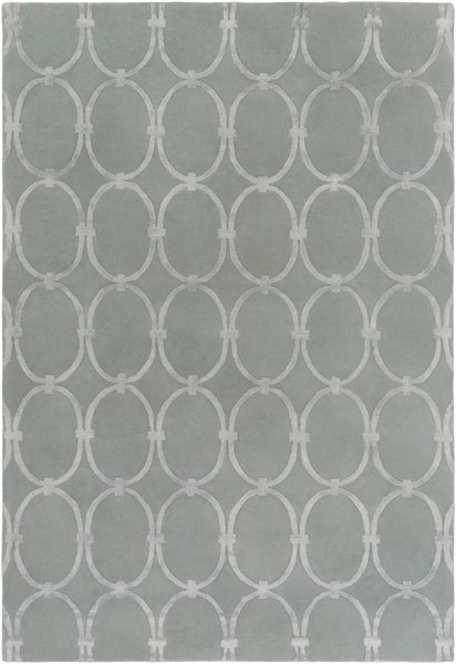 Modern Classics Contemporary Gray Wool Area Rug (L 156 X W 108) CAN1990-913