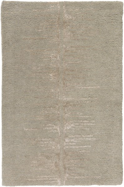 Modern Classics Modern Olive Light Gray Wool Area Rug (L 36 X W 24) CAN2071-23