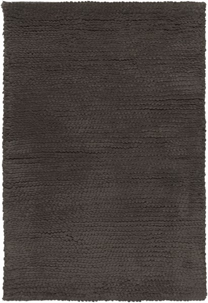Cambria Charcoal Wool - Felted Area Rug - 24 x 36 CBR8711-23