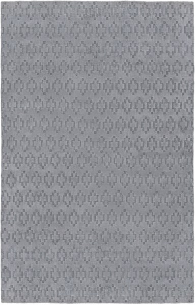 Castlebury Contemporary Slate Fabric Area Rug (L 96 X W 60) CBY7002-58
