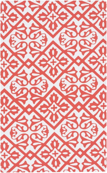 Cape Cod Coral Ivory Polyester Area Rug - 24 x 36 CCD1009-23
