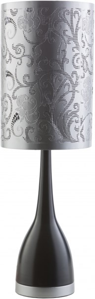 Cordelia Oxidized Black Iron Iron/ Cotton Table Lamp CDA200-TBL