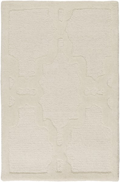 Chandler Contemporary Ivory Wool Rectangle Area Rug CHA4000-23
