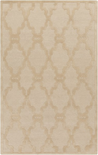 Chandler Contemporary Beige Wool Area Rug CHA4001-58