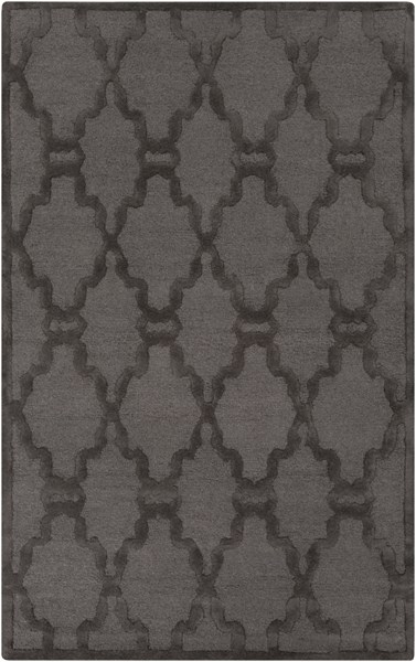 Chandler Contemporary Charcoal Wool Area Rug CHA4002-58
