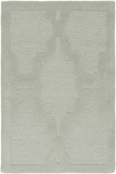 Chandler Contemporary Gray Wool Hand Hooked Area Rug CHA4003-23