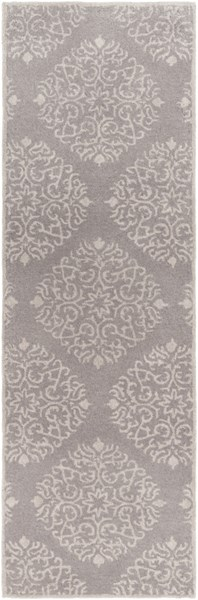 Chapman Lane Light Gray Wool Runner - 30 x 96 CHLN9007-268