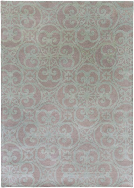 Chapman Lane Gray Sea Foam Wool Area Rug - 96 x 132 CHLN9017-811