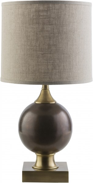 Claudia Brass Iron Cotton Table Lamp - 13x25 CLD467-TBL