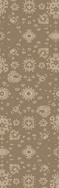 Castello Traditional Taupe Light Gray Olive Fabric Area Rugs 14810-VAR1