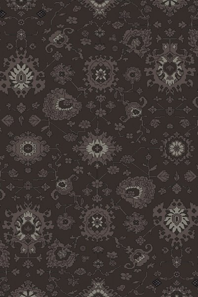 Castello Charcoal Taupe Light Gray Wool Area Rug - 60 x 90 CLL1005-576