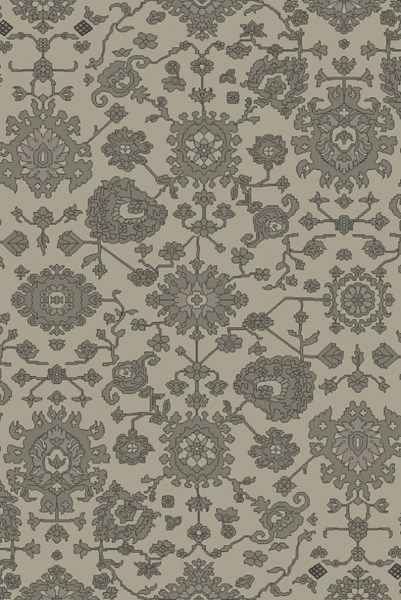 Castello Gray Moss Charcoal Wool Area Rug - 60 x 90 CLL1006-576