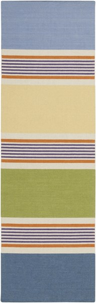 Calvin Contemporary Beige Gold Violet Fabric Runners 1743-VAR1
