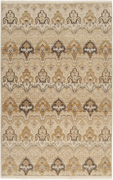Cambridge Ivory Taupe Mauve New Zealand Wool Area Rug - 66 x 102 CMB8000-5686