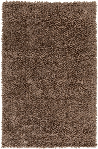 Cumulus Taupe Olive Wool Felted Polyester Area Rug (L 96 X W 60) CML2002-58
