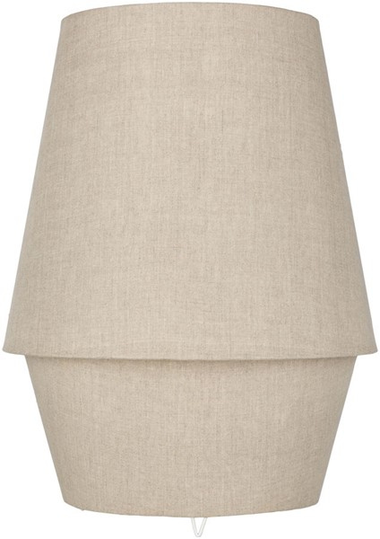 Surya Campos Taupe Fabric Table Lamp - 15x20 CMO-004