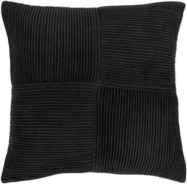 Conrad Slate Cotton Throw Pillow (L 20 X W 20 X H 5) CNR001-2020D