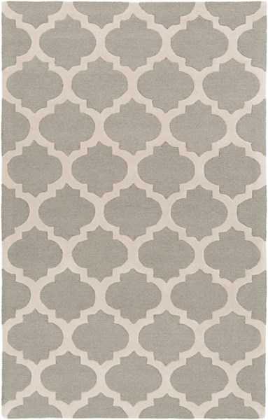 Centennial Light Gray Wool Area Rug - 60 x 96 CNT1099-58