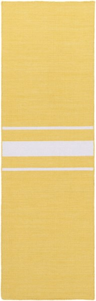 Colton Contemporary Gold Ivory Wool Runner (L 96 X W 30) COL6002-268
