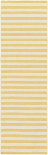 Colton Contemporary Sunflower Ivory Wool Runners 12861-VAR1