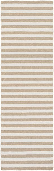 Colton Contemporary Olive Ivory Wool Runner (L 96 X W 30) COL6007-268