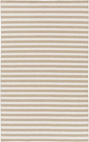 Colton Contemporary Olive Ivory Wool Area Rug (L 96 X W 60) COL6007-58