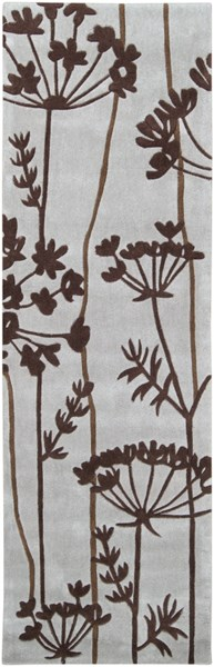 Cosmopolitan Gray Chocolate Olive Polyester Runner (L 96 X W 30) COS8812-268