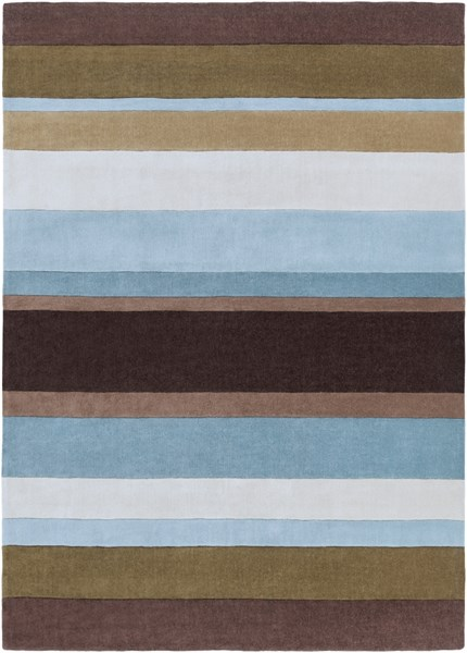 Cosmopolitan Olive Slate Taupe Polyester Area Rug (L 132 X W 96) COS8904-811
