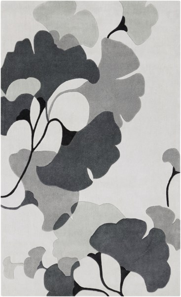 Cosmopolitan Ivory Light Gray Moss Polyester Area Rug (L 96 X W 60) COS9172-58