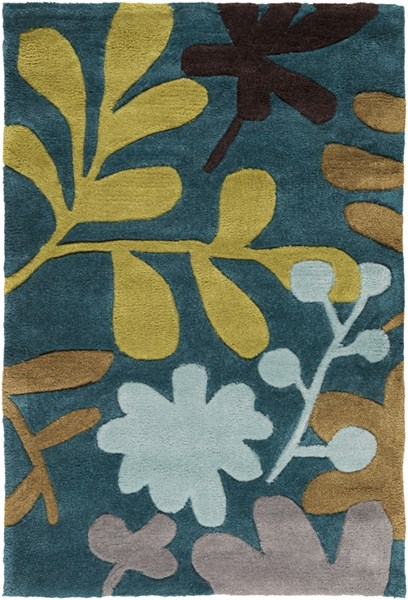 Cosmopolitan Olive Chocolate Lime Polyester Area Rug (L 36 X W 24) COS9208-23
