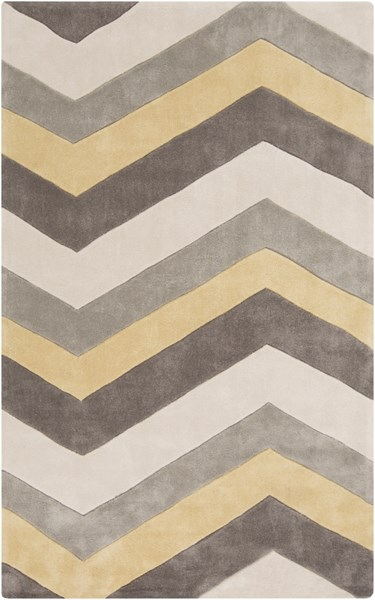 Cosmopolitan Butter Light Gray Polyester Area Rug (L 96 X W 60) COS9217-58