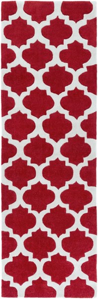Cosmopolitan Light Gray Cherry Polyester Runner (L 96 X W 30) COS9238-268