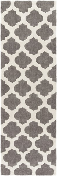 Cosmopolitan Contemporary Beige Gray Polyester Runner (L 96 X W 30) COS9241-268