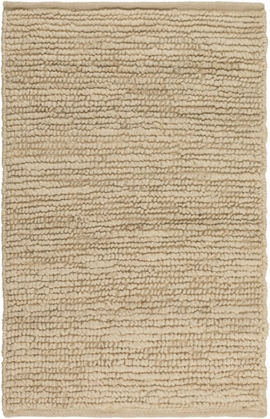 Continental Contemporary Beige Fabric Hand Woven Area Rugs 40-VAR1