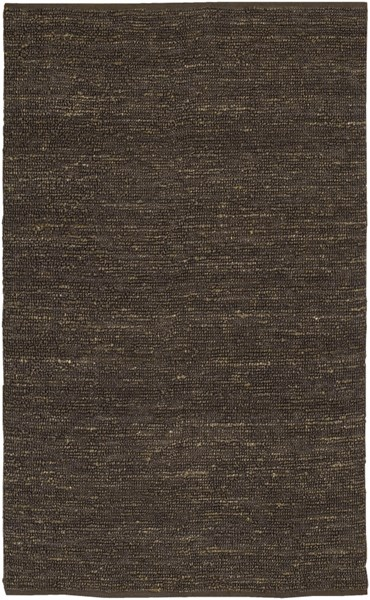 Continental Dark Olive Jute Area Rug - 60 x 96 COT1933-58