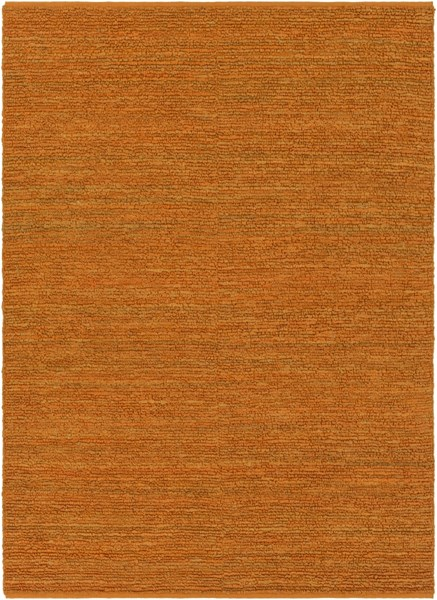 Continental Burnt Orange Jute Area Rug - 96 x 132 COT1934-811