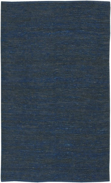 Continental Contemporary Navy Fabric Hand Woven Area Rug COT1935-58