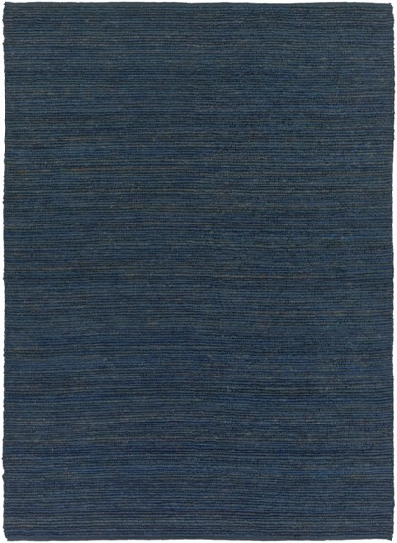 Continental Contemporary Navy Fabric Rectangle Area Rug COT1935-811