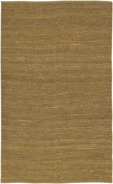 Continental Contemporary Gold Fabric Shag Area Rug COT1936-58
